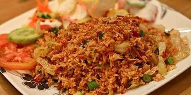 Extra Spicy Terasi Fried Rice Cooking Recipe