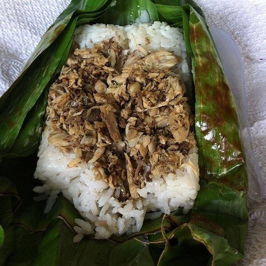 Special Tuna Fish Grilled Rice Cooking Recipe Delicious