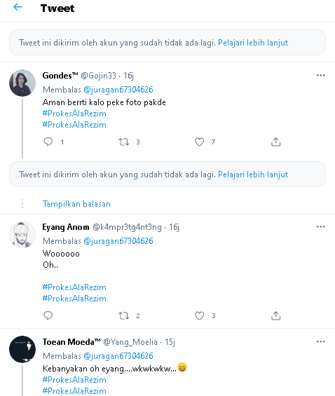 Viral !! Idea To Post Jokowi Photos in Hajatan Let's Not Dibubarin Task Force Covid